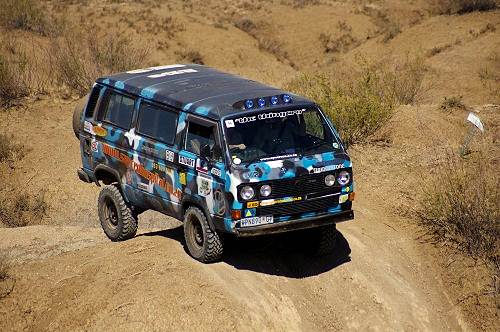 One of two Syncro buses that made the route!