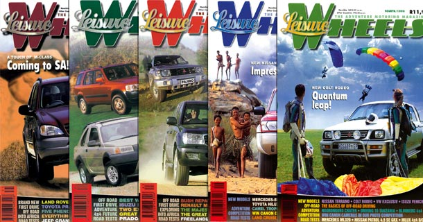 The first five editions of Leisure Wheels