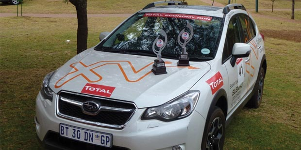 Subaru comes out tops for all-wheel drive cars at Total Economy run
