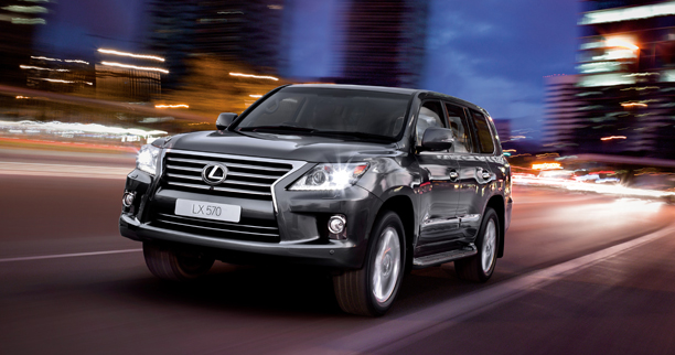 Facelifted: Lexus LX 570 - from R1 138 600 to R1 178 600