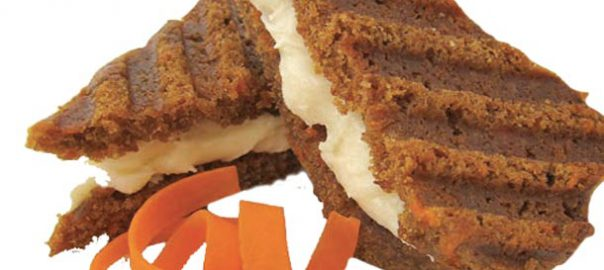 Snackwich carrot cake