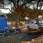 The community campsite at Khwai River is really in the wilds, and proved to be a wonderful experience.