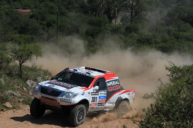 Dakar Summary - Stage 9