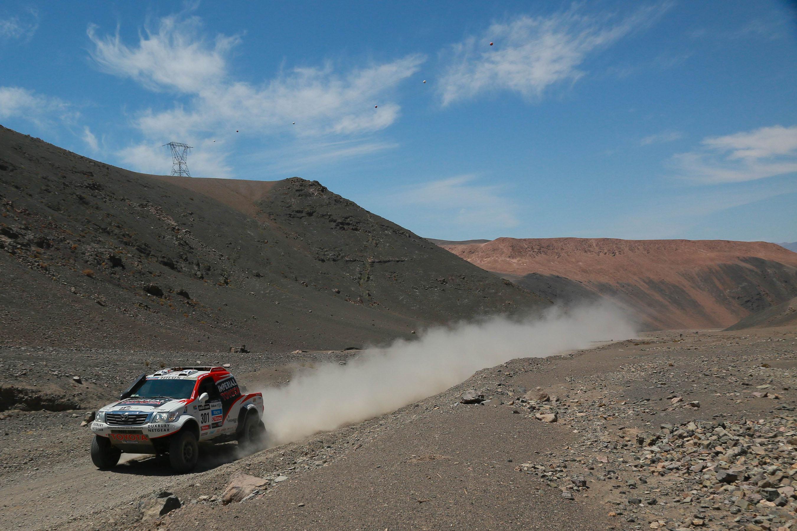 Dakar Summary - Stage 12