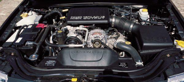 Jeep engine Hemi combustion