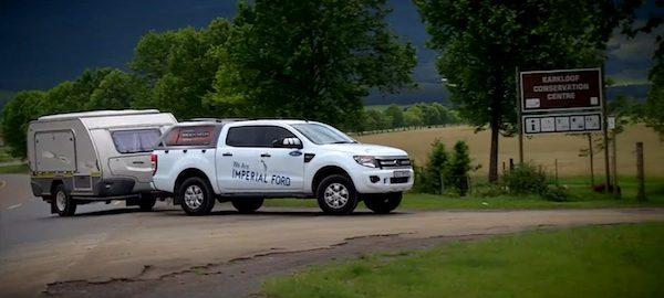 Ford Ranger in HookedUp TowCAR shootout