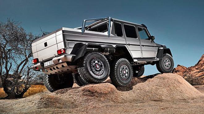 Merc's new 6x6 G63 + VIDEO - Leisure Wheels