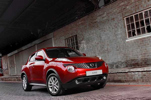 The Nissan Juke is now available in AWD with a CVT 'box only