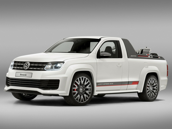 The Amarok R Style Concept - also known as the Amarok Power Pickup - at Worthersee