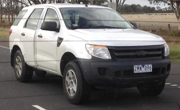 Ford-Everest-test-mule