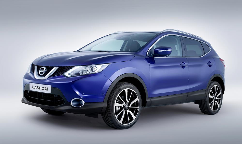 The Qashqai now has a sleek and aggressive nose