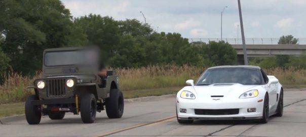 Willys Jeep vs Sportscars