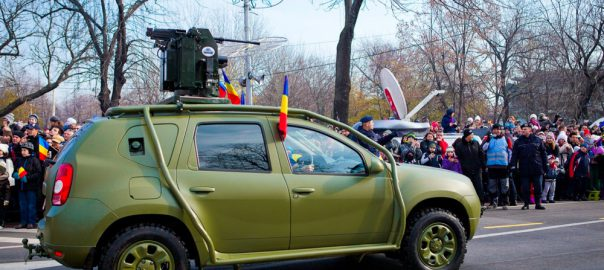 THE DACIA DUSTER ARMY