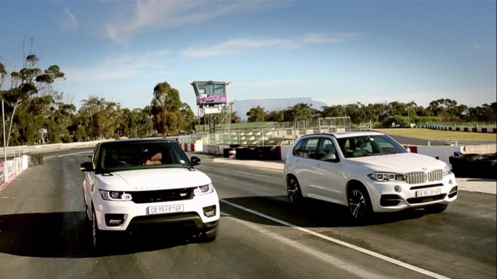Video BMW X5 M50d vs RR Sport SC  Leisure Wheels