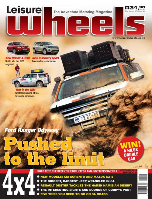 November 2014 Issue of Leisure Wheels