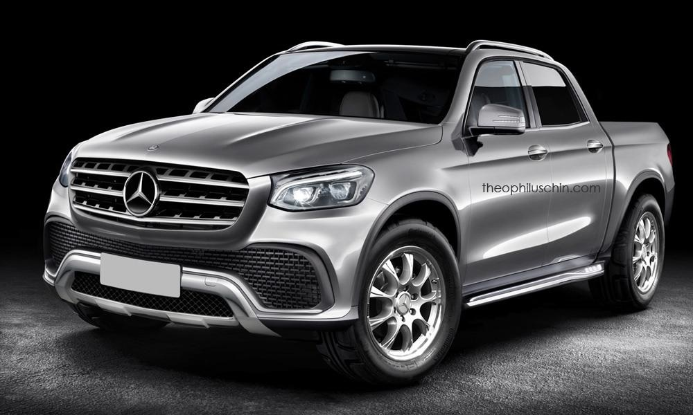 is this what the mercedes bakkie will look like leisure wheels. Black Bedroom Furniture Sets. Home Design Ideas