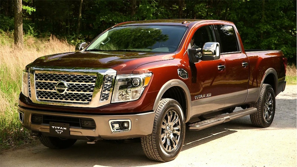 2016 nissan titan and cummins offer diesel goodness w video leisure wheels. Black Bedroom Furniture Sets. Home Design Ideas