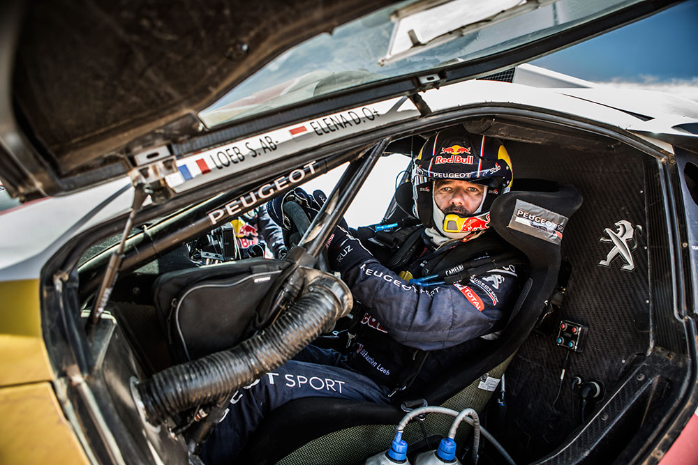 loeb and elena get stuck in the sand on stage 9 of the dakar 2016 leisure wheels. Black Bedroom Furniture Sets. Home Design Ideas