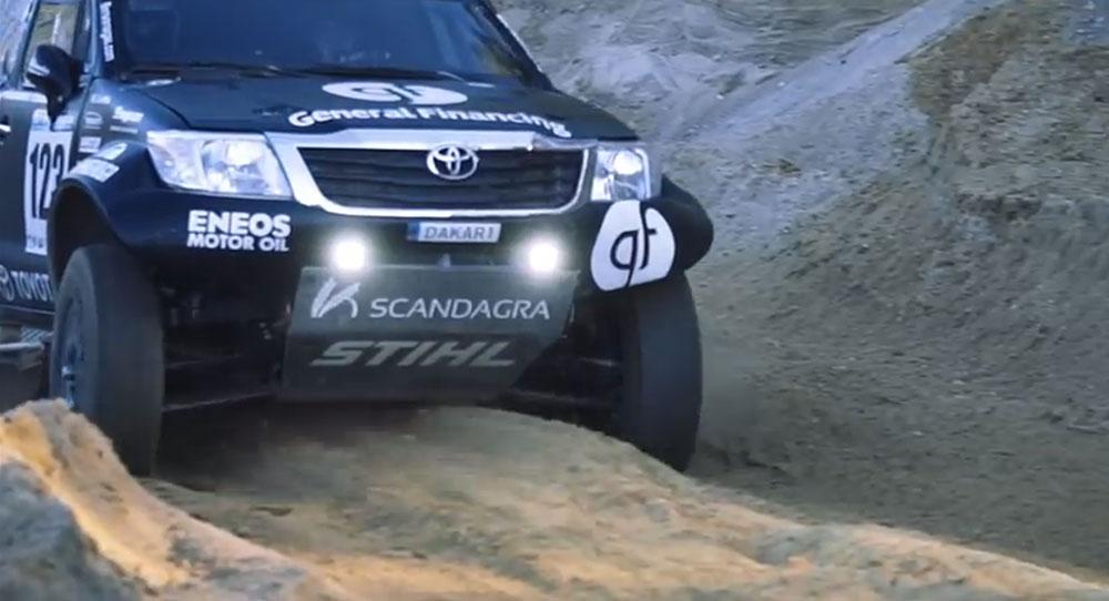 Pre - Dakar 2016 | Testing Toyota Hilux - Leisure Wheels