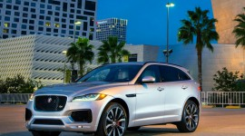 Jaguar F-Pace at the 2016 Canadian International Show