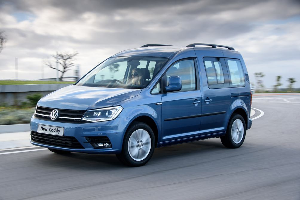 vw 39 s new caddy rolls into sa leisure wheels. Black Bedroom Furniture Sets. Home Design Ideas