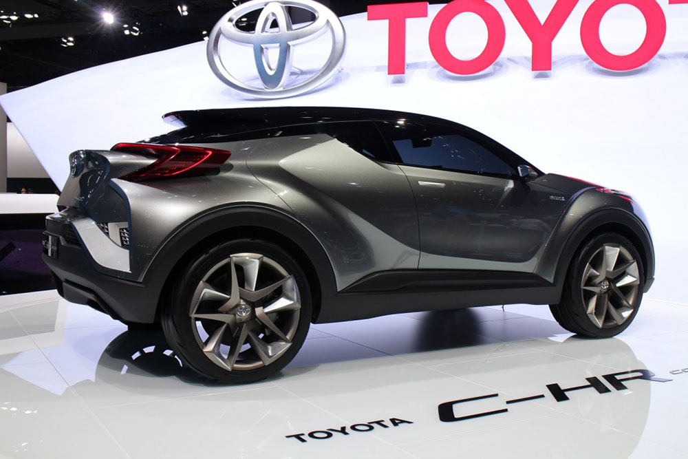 toyota c hr small suv to debut at geneva motor show. Black Bedroom Furniture Sets. Home Design Ideas