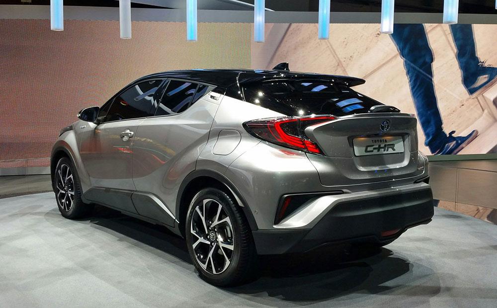 Model Toyota CHR Debuts In Geneva  Leisure Wheels