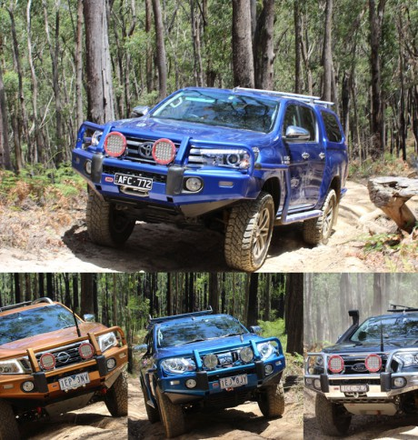 Hilux vs The Rest