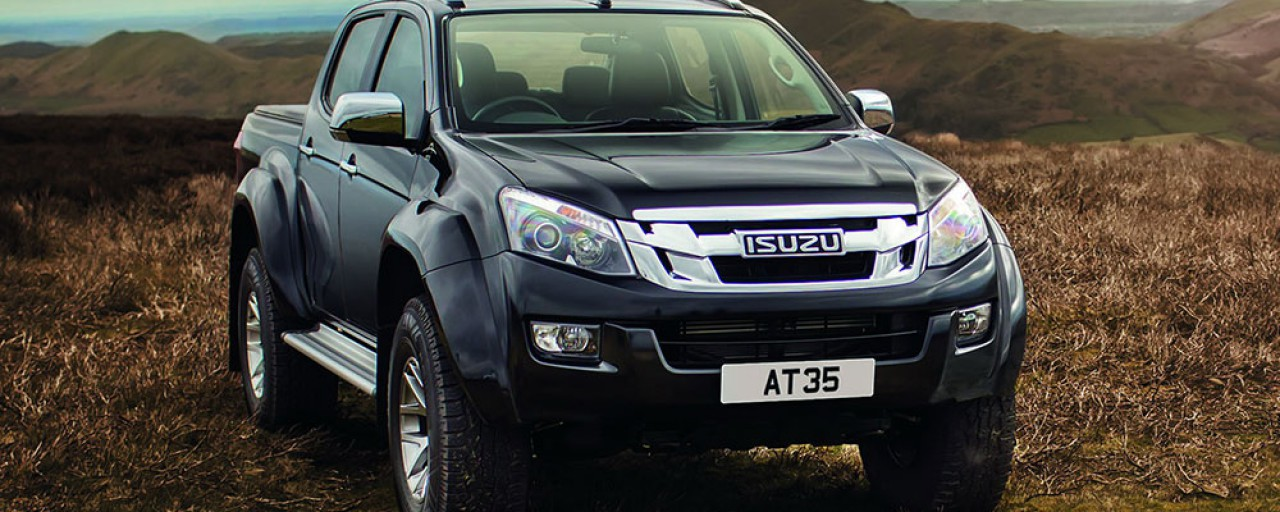 Isuzu launches D-Max AT35 with the help of Arctic Trucks