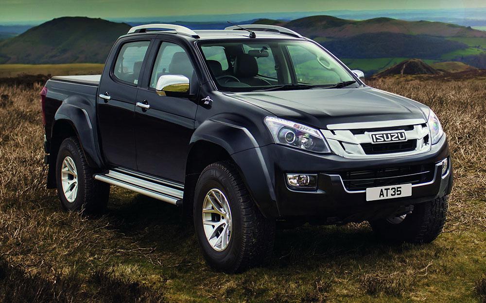 Isuzu Launches D Max At35 With The Help Of Arctic Trucks