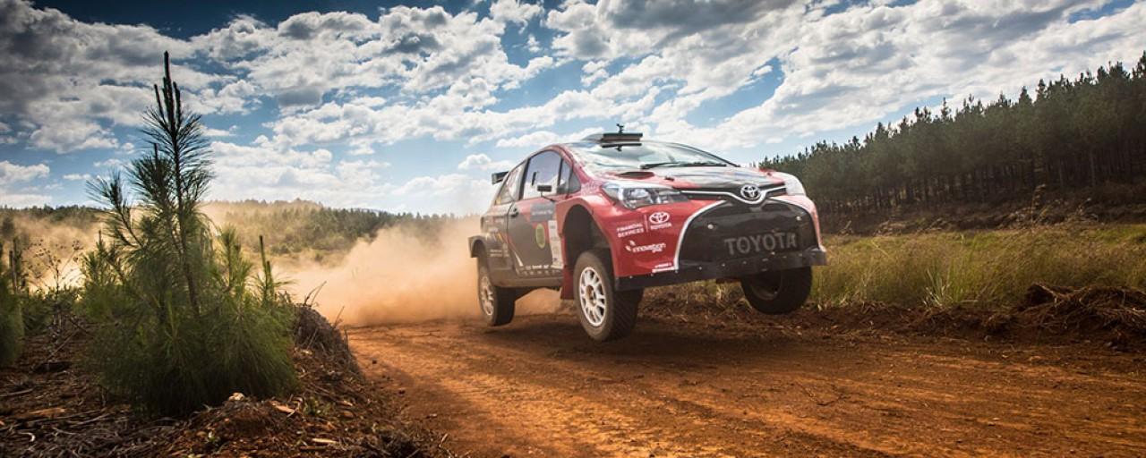 Flag-to-flag Victory for Toyota Gazoo Racing on 25th Sasol Rally