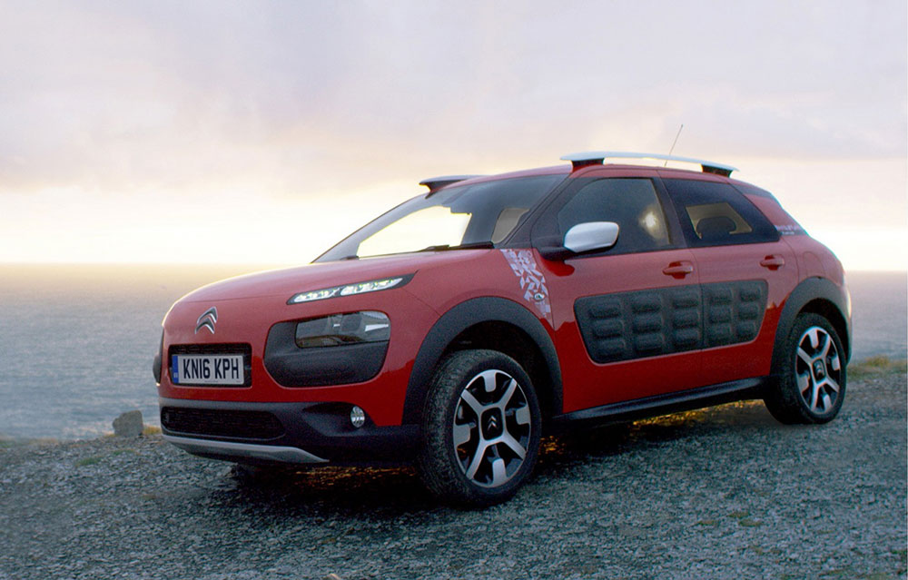Citroen C4 Cactus Rip Curl Launched In The Uk Leisure Wheels