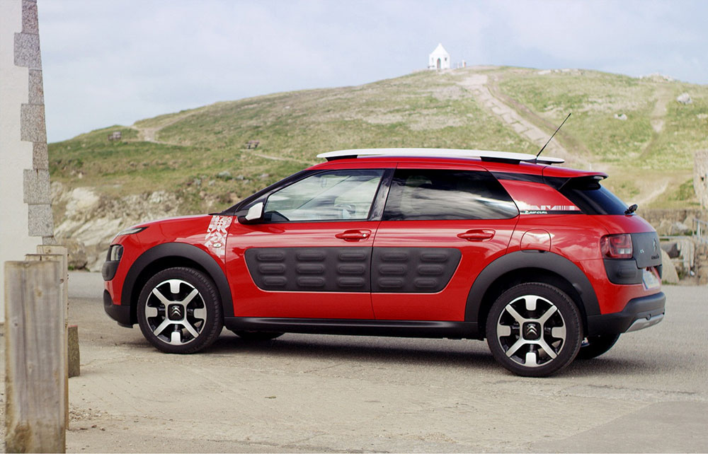 citroen c4 cactus rip curl launched in the uk leisure wheels. Black Bedroom Furniture Sets. Home Design Ideas