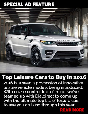 Top Leisure Cars to Buy in 2016