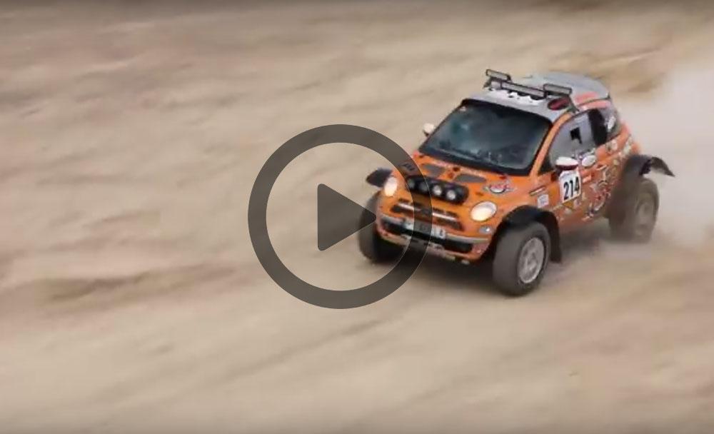 Fiat 500 4x4 Rally Car Leisure Wheels