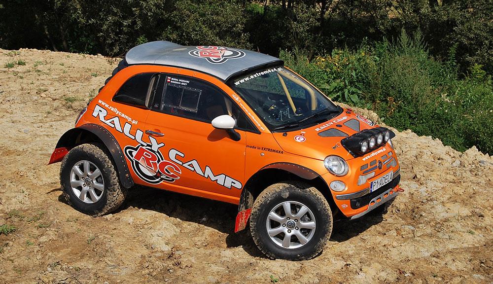 FIAT-500-rally-car
