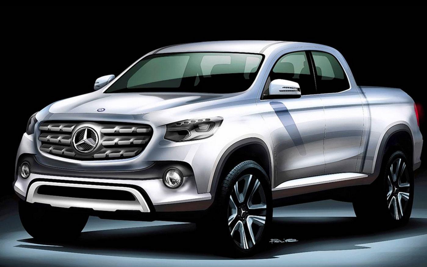 2018 Ram Power Wagon >> Mercedes 2018 GLT bakkie spied - Leisure Wheels