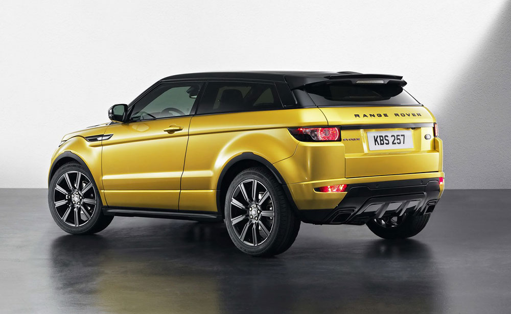 Range Rover Sport Coupe May Get An All Electric Variant