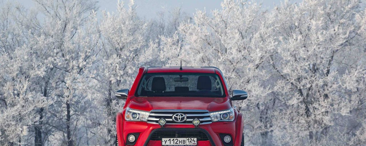 All-new Hilux converted by Arctic Trucks
