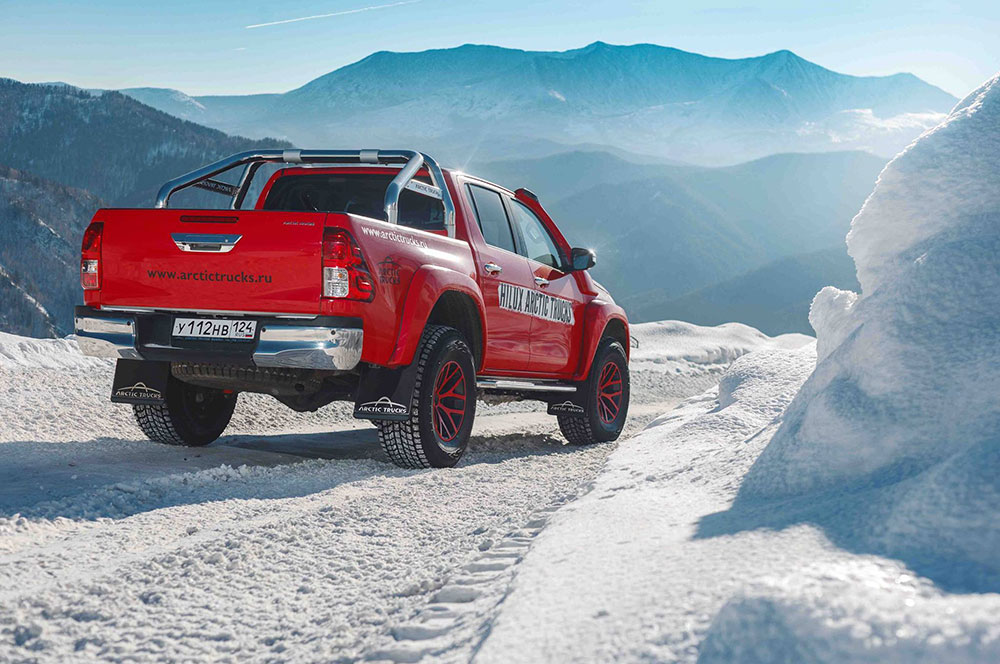 The Arctic Trucks Toyota Hilux Leisure Wheels
