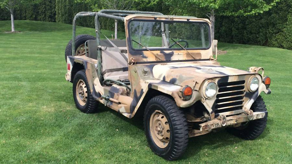 Ford M151a2 Mutt Vintage Army Off Roader Up For Sale