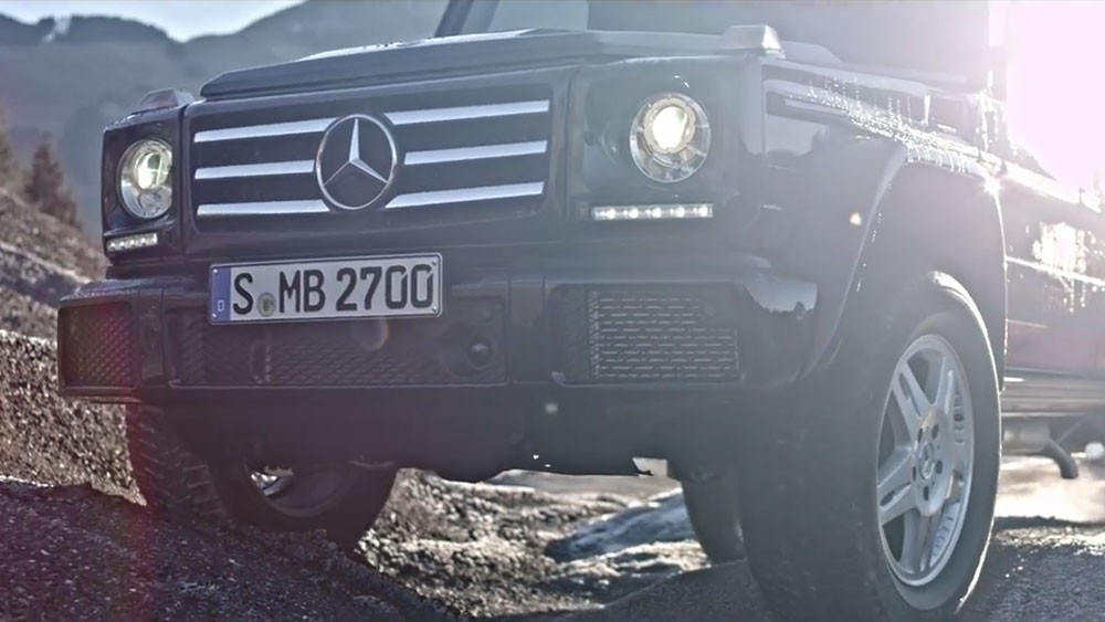 Mercedes G-Class takes on extreme off-road challenges - Leisure Wheels