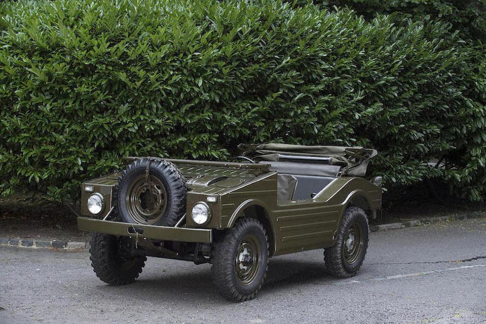 1957 Porsche Jagdwagen 4x4 military vehicle to go on auction