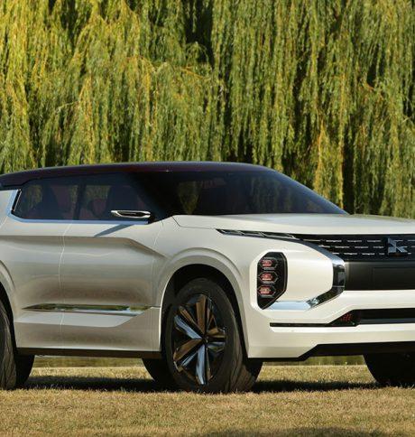 Mitsubishi unveils GT-PHEV Concept in Paris