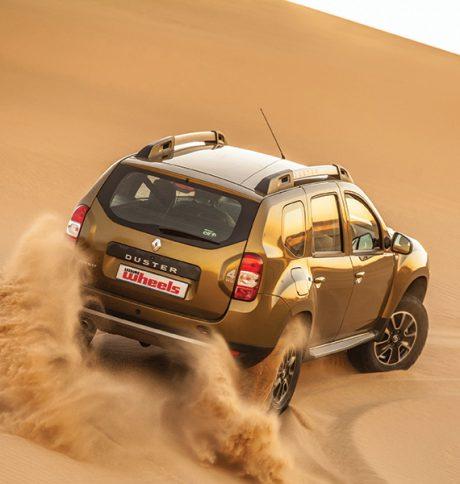Off-road test: Renault Duster vs Namib Desert