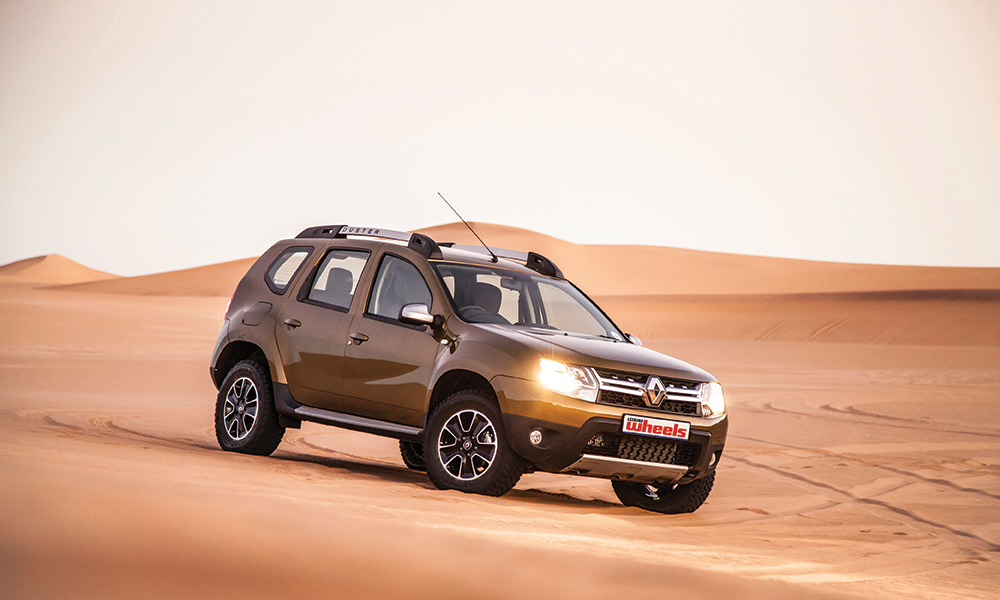 off road test renault duster vs namib desert leisure wheels. Black Bedroom Furniture Sets. Home Design Ideas