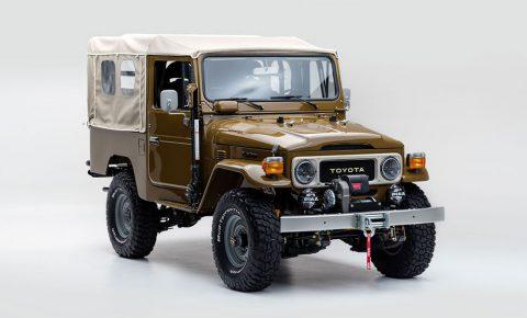 1981 FJ Land Cruiser Restored sells for nearly R3-million