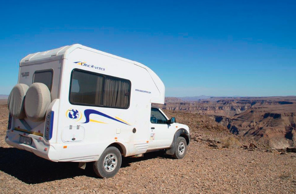 Bobo Campers offers its NP300 with a motorhome body, alleviating the need for rooftop camping.