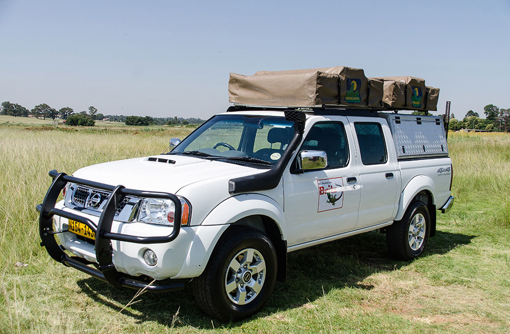 The Britz 4x4 Nissan Hardbody NP300 offers and alternative tot he Toyota-dominated rental market.