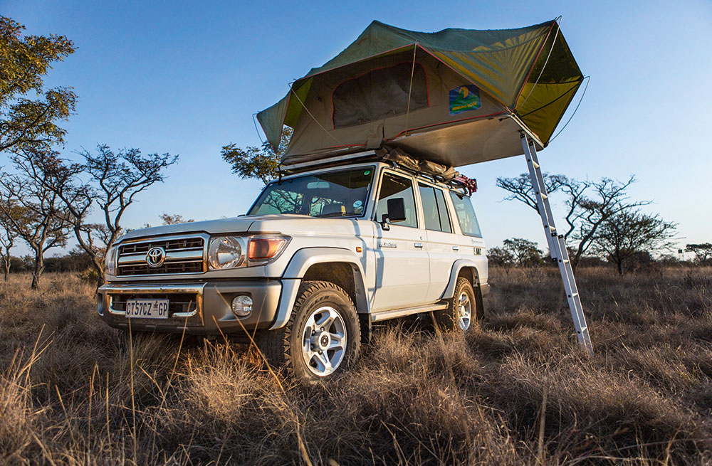 A Toyota Land Cruiser 76 4.2D provides plenty of reliability and 4x4 ability, but not so much open road cruising ability.